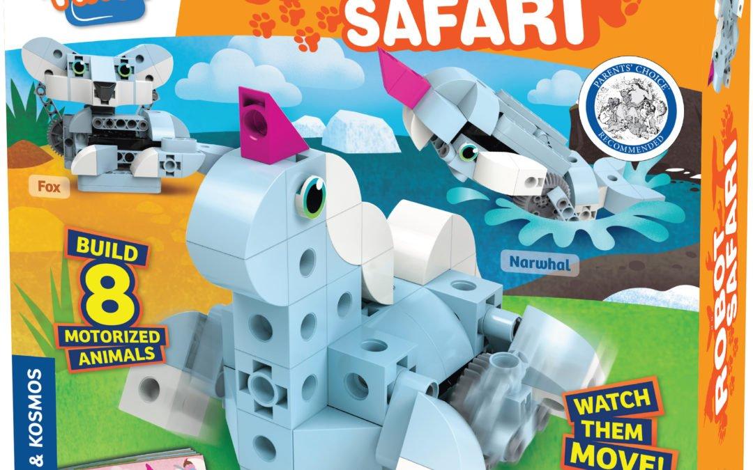 Kids First: Robot Safari – Introduction to Motorized Machines