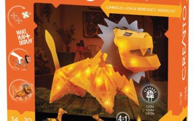 Creatto: Luminous Lion & Serengeti Sidekicks