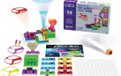 Circuit Blox Build your own Light Show Fan Launch
